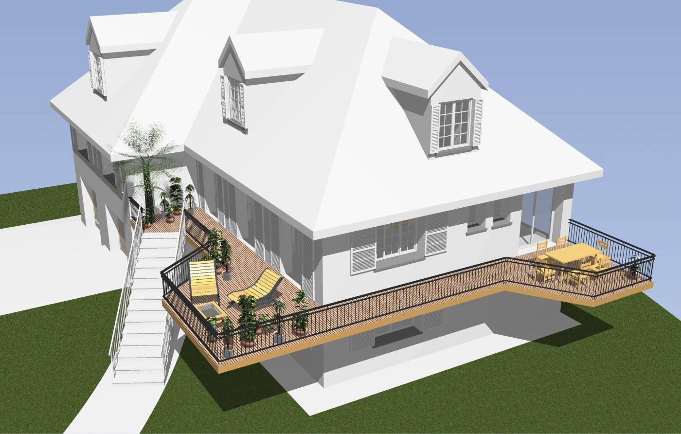 Amenagement Exterieur Terrasse Maison aménagement extérieur *terrasses aux formes épurées* – cap m