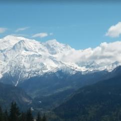 Mont Blanc depuis Passy